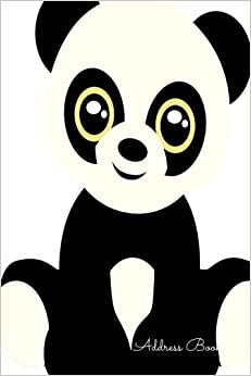 Book Address Book: Panda For Kids With Contacts, Addresses, Phone Numbers, Emails and Birthday. Alphabetical Organizer Journal Notebook (Address Books)