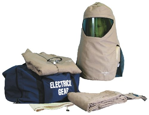 National Safety Apparel - KIT4SCPR40NG3X - 40.0 cal./cm2 Arc Flash Protection Kit, 4-HRC, Khaki, 3XL by National Safety Apparel Inc