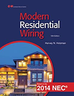 modern residential wiring harvey n holzman 9781631268960 amazon rh amazon com Electrical Wiring Residential Textbook Modern Residential Wiring Key