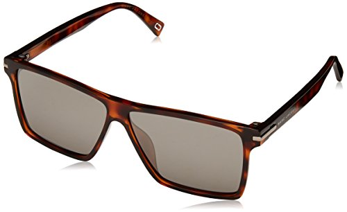 Marc Jacobs Marc222/S 581 Havana / Black Marc222/S Square Sunglasses Lens - Jacobs Marc Sunglasses By Marc Havana