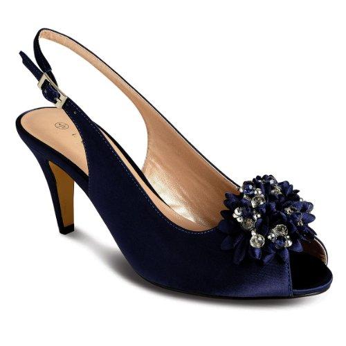 Sapphire Boutique by Sapphire - Zapatos de vestir para mujer Azul marino (Zapato)