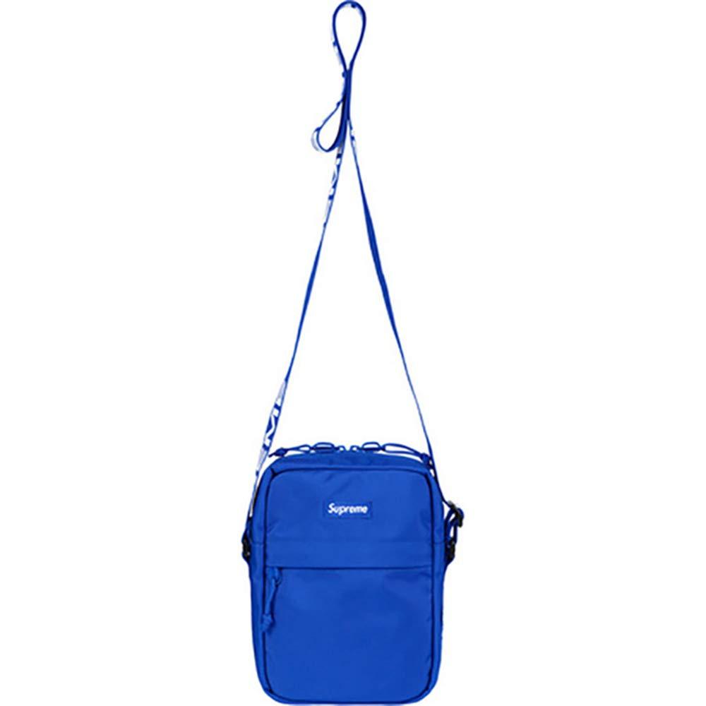 QIBT New Nylon Shoulder Bag Waist Messenger Bags Fanny Pack Bag for Men Unisex Black