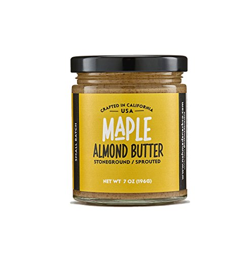 Nohmad Snack Co - Sprouted & Stoneground Maple Almond Butter by Nohmad Snack Co