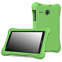 MoKo Samsung Galaxy Tab E 8.0 Case - Kids Friendly Ultra Light Weight Shock Proof Super Protective Cover Case for Samsung Galaxy Tab E 8.0 Inch Tablet, GREEN