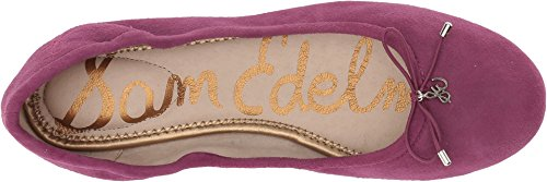 Sam Edelman Womens Felicia Ballet Flat Mulberry Pink Kid Suede Leather 28MitbsU5