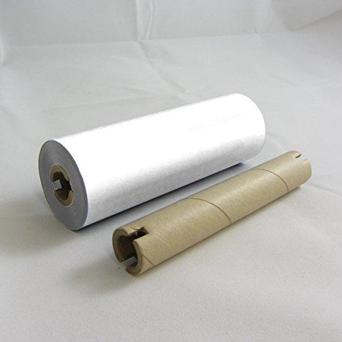Zebra White Resin Ribbon - Chemical, Abrasion, and UV Resistant Ink Ribbons (on 1/2