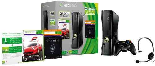 Xbox360本体 250GB リキッドブラック バリューセット