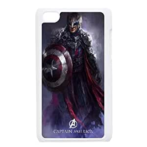 Captain Americ iPod Touch 4 Case White present pp001_9822332