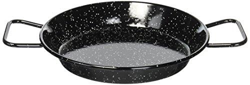 Garcima 9-1/2-Inch Enameled Steel Paella Pan, 24cm by Garcima