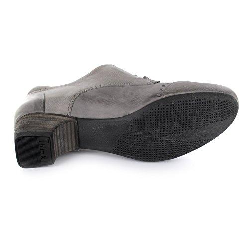 Think de gris Zapatos mujer Piel para Nana KRED cordones de Gris UqgwUrE