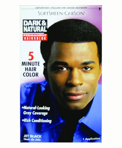 DDI Dark And Natural Hair Color Men Jet Black- Case of 12 from DDI