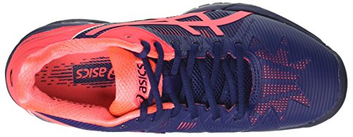 Asics Gel-Solution Speed 3, Zapatillas de Tenis para Mujer Azul (Indigo Blue/diva Pink)