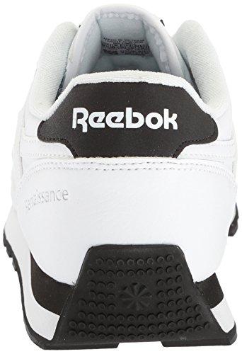 Classic Renaissance Black Reebok Men's Silver White 5Ex5Hq