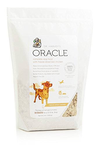 Dr. Harvey'S Oracle Freeze-Dried Raw Complete Diet For Dogs, Chicken, 3-Pound Bag