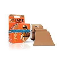 KT TAPE PRO Kinesiology Tape, Elastic Therapeutic Tape, Uncut, 16 Feet