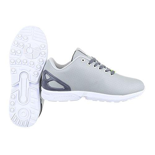 Ital-Design - Zapatillas de Material Sintético para hombre Grau 559H