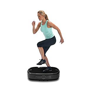 Personal Power Plate Vibrating Platform Exercise Tool