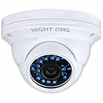 Night Owl CAM-HDA10W High-Resolution Security Dome Camera