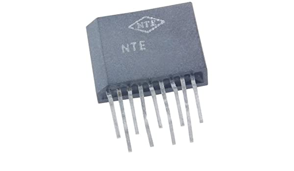20V Supply Voltage Inc. Low Noise NTE Electronics NTE1019 NTE Electronics NTE1019 Hybrid Module Integrated Circuit Equalizer Amplifier 9-Lead SIP Case
