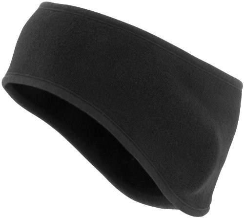 (Schampa Fleece Single Layer Earband - One size fits most/Black)