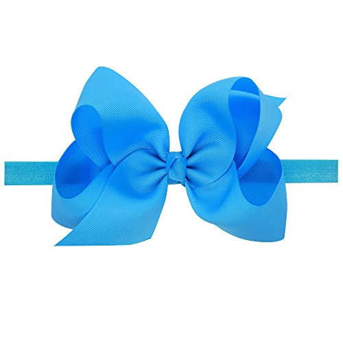 LD DRESS Baby Girls Infant Headbands With Kids Hair Bows(16)