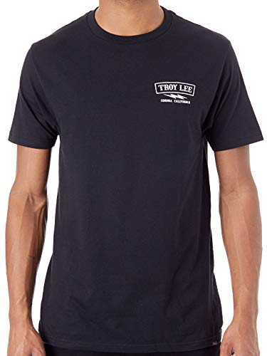 (Troy Lee Designs Men's Classic Shocker T-Shirt (XX-Large, Black))