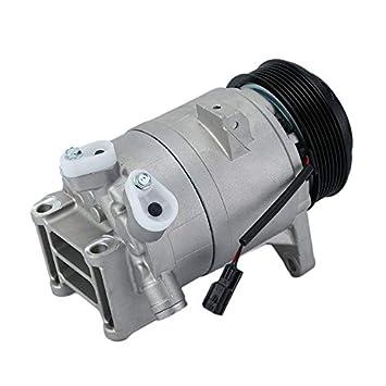 Compresor de A/C y embrague para Nissan Infiniti 67671 - negro y plata: Amazon.es: Hogar