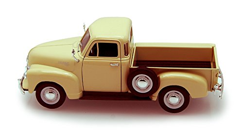 - Welly 1953 Chevy 3100 Pickup Truck, Cream 22087 - 1/24 scale Diecast Model Toy Car