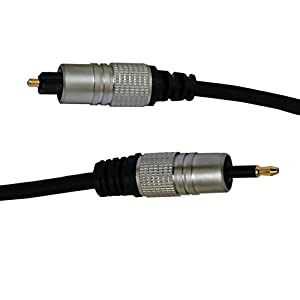 FiiO L12S A short version of L12 L12 3.5mm to 3.5mm plug optical cable