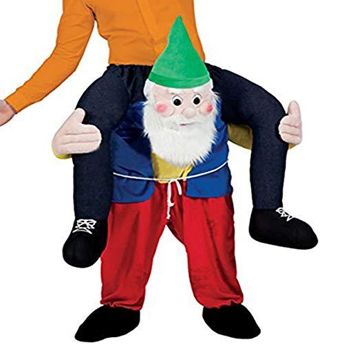 Novelty Carry Me Ride on Easter Mascot Costume Animal Funny Fancy Dress Pants-Santa -