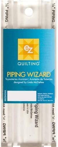 EZ Piping Wizard Quilting Template 8829424A