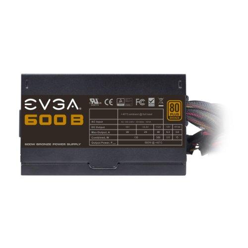 EVGA 600 B1, 80+ BRONZE 600W, 3 Year Warranty, Includes FREE Power On Self Tester, Power Supply 100-B1-0600-KR by EVGA (Image #5)'