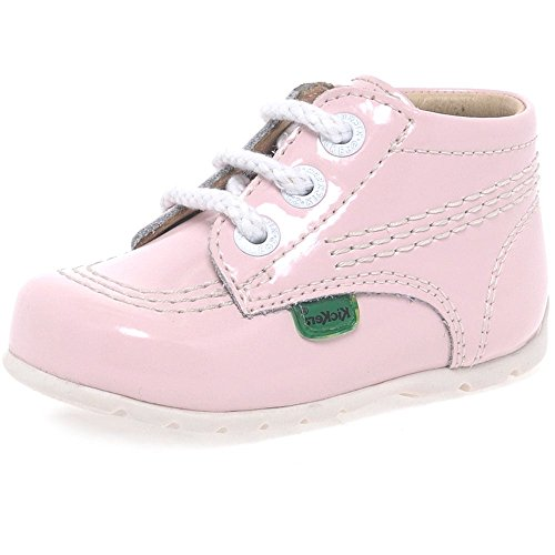 Kickers Kick Hi Baby Light Pink Leather 20 EU / 5 M US (Baby Kickers)