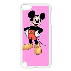 iPod Touch 5 Case White Mickey Mouse meej