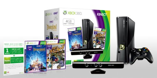 XB360本体(4GB) + Kinect DLアドベンチャーズ同梱の商品画像