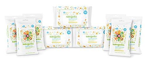 Babyganics Fragrance Free Baby Wipes Variety Pack