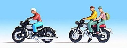 NOCH 15904 HO motor cyclists figures by Noch