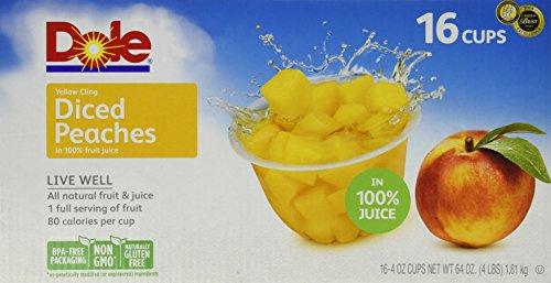 Dole Diced Peaches 16/4 Oz ()
