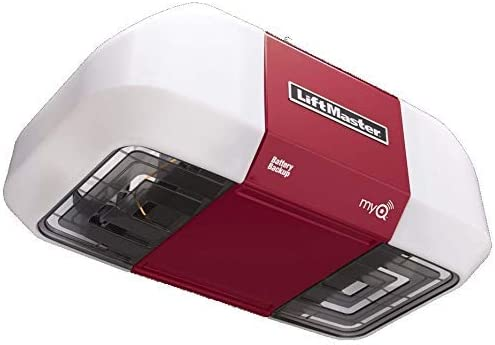 LiftMaster 8550W Belt Drive Garage Door Opener Elite Series DC Battery Backup Without Belt Rail Assembly