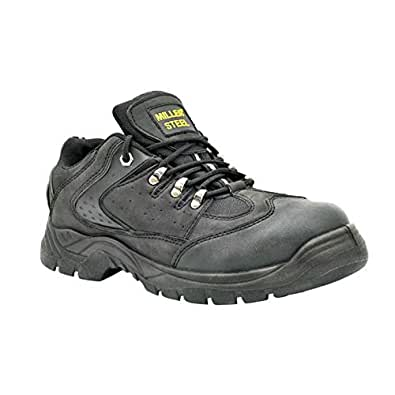 Miller Leather Safety Shoes (Mil-MEB)