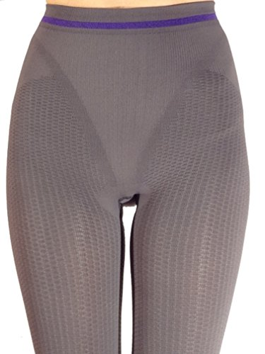 CzSalus Emana Biofir Therapy Anticellulite Slimming Compression Lymphedema Leggings - Graphite gray size S