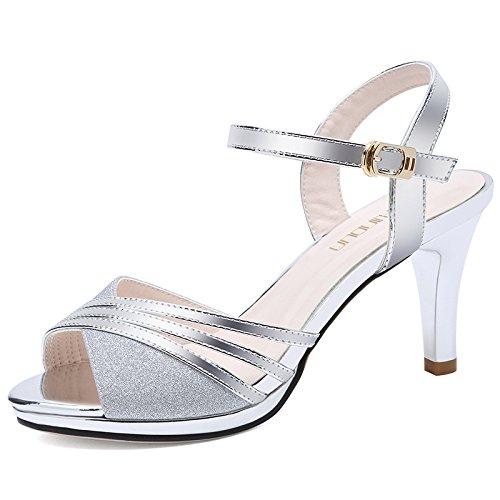 RUGAI-UE Schuhe mit hohen Absätzen, Sandalen Damen Damen Damen Mode und Sandalen. B07D688NJP Sport- & Outdoorschuhe Stilvoll und charmant f05cfa