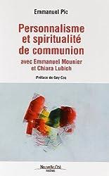 Personnalisme et spiritualité de communion