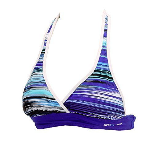 ZeroXposur Women's Swimwear Reversible Halter Triangle Top (14, ()