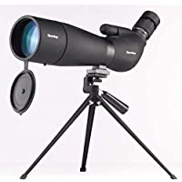 Bird Watching Monocular, 20-60 X 80 ED Zoom HD Monocular, Low Light Level Night Visiontelescope with Large Tripod