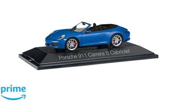 Herpa - Porsche 911 Carrera S Cabriolet 991 II (Escala H0, 70997: Amazon.es: Juguetes y juegos