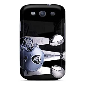 Fashion Hnd1958LtIm Case Cover For Galaxy S3(oakland Raiders)