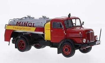 Camion citerne IFA S4000-1 SW7 MINOL 1/43