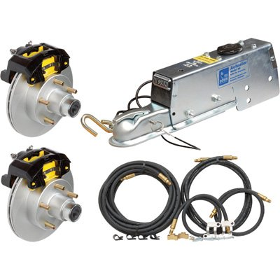 (TowZone 86854 Complete Disc Brake Kit with Actuator)