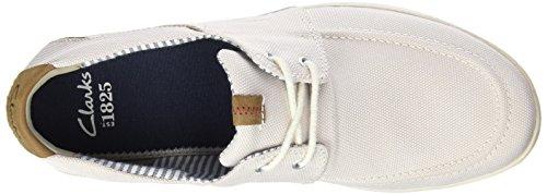 Clarks Norwin Go - Zapatos de cordones oxford Hombre Blanco (Off White)